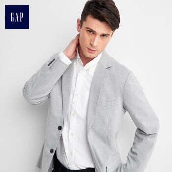 GAPフラッグシップショップメーンズベーシックファッション雑灰色ジャケット228377中度ミックスグレーL