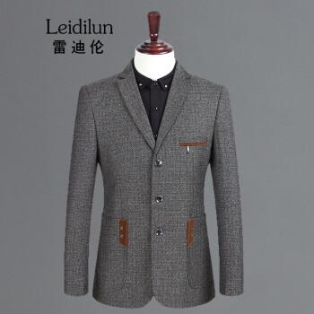 雷迪倫のスーツの上着の男性の春のスタイルは少し身を修める韓国式の男性のスーツの上着の2019春秋の新品の中年の小さいスーツの男性の838 185/2 XL