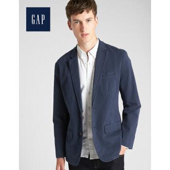 Gap公式旗艦店メーンズズビジネススーツ356216 W基本モデル純色ストレッチメンズカーディガン180/96 A(M)