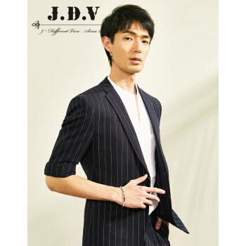 JDVメンズ2019年春新品男性スッポン生の通勤半袖スッツ男性紺170/92 B/S