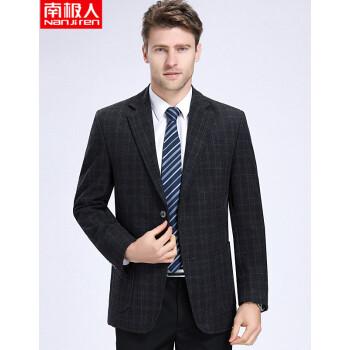 南極人の年齢の中で高齢者は少し羊毛のスーツの男性を詰めて厚いビジネスのスーツの上着を温めてはいけません。