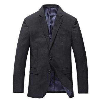 相思鳥xiangsiniaoスーツ男性の2つのバックルビジネス紳士服の少しの内装のスーツのオーバーB 5コレクションの青185/100 A