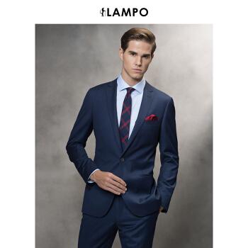 LAMPO/青豹秋冬新作スーツ男性上着オーバー修身ビジネススーツ男性ファッション52 C