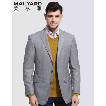 ミルヤ(MAILYARD)スーツ単品ウールビジネス男性用スーツ中年男性用シルク単品西220灰色175/94 A(A 6)