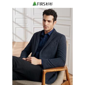 FIRSFIRSスーツ男性2019春新品の男性はウール韓国式毛を混紡します。
