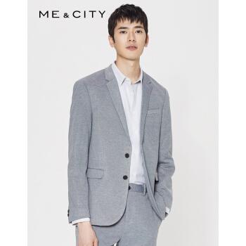 MECITY男性春秋新商品復古デザイン吸湿速乾ビジネススーツ514350灰色組175/96 A