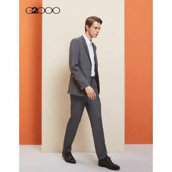 G 2000メーズビジネススーツ男性コート正装メンズスーツスーツスーツスーツ男性00010021グレー/94/170(48サイズは47サイズに相当)