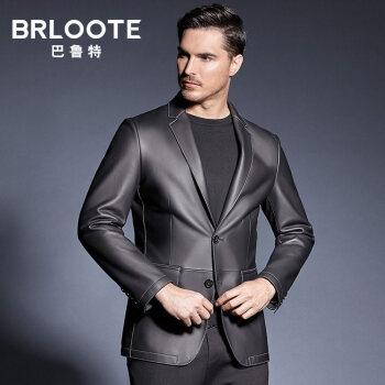 Brloote/ball to mens真皮の皮の服を修理します。ウェルストの新商品です。黒165/88 A