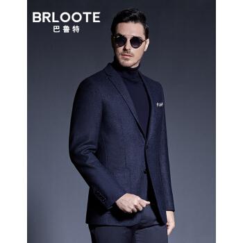 Brloote/バルト純毛スーツ男性ファッションビジネス少し身を装飾します。西スーツ外套秋冬服紺175/96 A