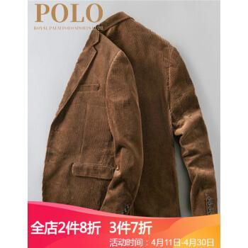 POLO軽豪華メーズスーツ男性2019新品ビジネス修身綿スーツ16855/2 XL