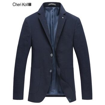 シェリーコールスーツ男性2019春新品男性コートに洋ビジネス用の小ぶりスーツファッション2019 Z 19303紺色170/M