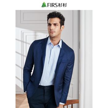FIRSFIRSスーツ男性2019春新品ファッションハンガーFXWB 6054-2紺180 A