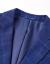 HLA海澜の家のクラシカルチェックスーツ2019春新品修身単西外套男HWXAD 1 R 016 Aボディアス16 175/92 A
