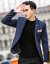 wpkdsスーツ男性2019チェックのイギリス風男性ビッグサイズスーツの中で青年が身を修めるのは西単品のビジネススーツ単品のスーツの上着メレンズ灰色XLです。