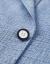 HLA海澜之家シングルバックル修身略装スーツ2019春新品フラットカラー西外套男HWXAD 1 R 002 Aブルーグレー模様02 175/92 A