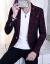 男性の新商品の春の服装は韓国式で、小さいスーツの男性用の単品の上着は身を修めます。