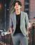 スーツスーツ男性2019春夏新品ビジネス略装インロン風男性シングルバックル中袖洋服二点セット薄品のバックダンサー新郎結婚ドレスビジネススーツ黒二点セット48