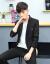 富貴鳥スーツ男性は2019年の春に、新品のスーツを男性と韓国式の小さいスーツを身につけます。メンズコート男性はビジネススーツに小さいスーツスーツスーツに男性は結婚ドレスに09黒(単品のスーツ)XL(155-155斤)