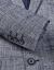 HLA海澜の家紳士格紋略装スーツ2019春新品修身単西外套男HWXAD 1 R 007 T青灰色格子紋07,175/92 A