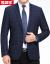 恒源祥ウール単西男中年薄毛のジャケット2018秋冬新品修身メーズスーツファッションチェックスーツ深さカーキ【6826】190/104 A