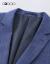 G 2000メーズスーツ2018冬新品通勤ビジネススーツ88110274紺/78 50/175