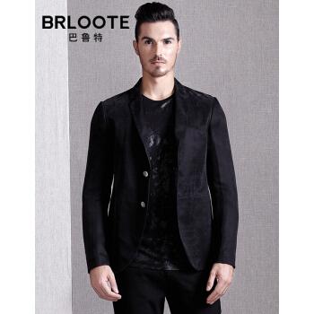 Brloote/バロット男性ファッションスーツスーツスーツスーツスーツ西単西外套春服黒175/96 A