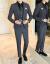 夏の薄手のメンズスーツ夏の半袖スーツ男性の七分袖のカッコイイ小物です。TZ 833黒(スーツ+ズボン)+ネクタイを3 XLプレゼントします。