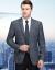 ピルカダンオフィシャル旗艦店メンズマン2019春新作スーツビジネススーツスーツ男性修身流行色西単スーツ上着8680灰色185/100 A