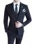 GODLIKEスツー男性2019新品スツー男性3点セット职业修身スツー新郎结婚礼服ビズネル男性外套D 17種(スツー単体)黒4 XL(170-190斤を奨励)