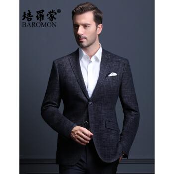 ベロモンの秋の新品の中年男性スーツスーツスーツスーツスーツ男性修身スーツスーツスーツ男性EDXBH 6226ブルー175 B