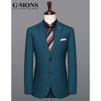 吉約蒙(G・MONS)男性用スーツ単品結婚ドレス礼服礼服礼服礼服略装小スーツ単品スーツ上着【48サイズ170/88 Y】