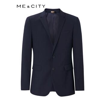 折【カク允祥】MECITY男性の新商品のウール弾力機能ビジネススーツ536358夜黒藍180/100 A