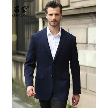 ペロモン春秋新商品中年男ビジネススーツメンが西英倫修身小スーツEDXBH 5202ブルー5203 170