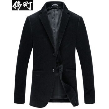 ぜいたく町2018秋スーツ男性修身ビジネススーツ男性コーデュア男性スーツ上着黒180