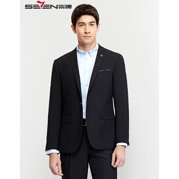 cmメーズスーツファッション男性用一顆ボタン一着スーツ2018年春新品ブラック50/(180/96 A)