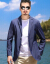 富貴鳥はスーツを少し詰めます。男性は夏の薄さが特徴です。中年の格好がいいです。韓国式の小さいスーツの一つの日焼け止めジャケットは西灰色の175/Lです。
