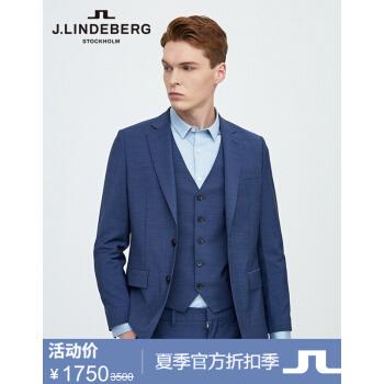 【割引シーズン】J.LINE DEBERG金林德伯格男性ビジネスカッティング修身綿毛スーツ51914 K 507 OST 2中青175/96 A(48 R)