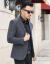 ファサーニャ軽贅沢ブランドスーツ男性2019秋冬新作メウンズスーツ男性修身ビジネス略装ウールスーツ男性用ジャケット灰色180/XL