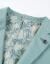 HLA海澜の家は爽やかで紳士的で、スーツを少し詰めて身を修めます。男性HWXAD 1 R 035 A浅緑36 175/92 A