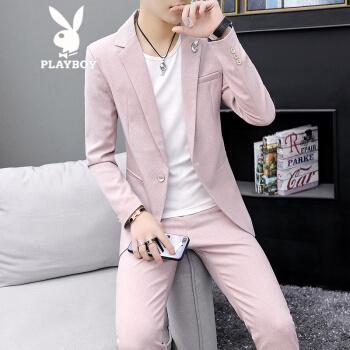 プレレボン(PLAYBOY)小さいスツーの男性のスポーツは韩国式です。男性は薄手のスツーの着付けを少なくしています。青年はかくなり。スウィーツは1917ピンクのセクトです。M