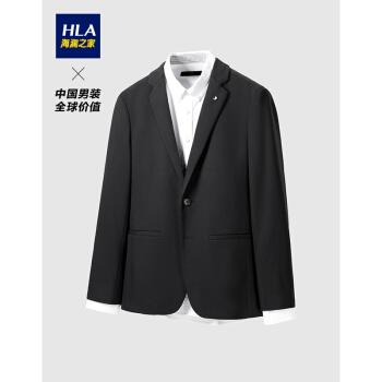 HLA海澜の家スウィーツ男性2020秋Flant kala fu fash紳士服HWXAD 3 Q 134 Aブラク(D 5)175/92 A(48 A)cz