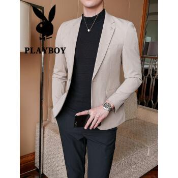 プレイボーイの男性は小さいスーツの男性を少し詰めて、韓国式修身四季ビジネス青年スーツの男性は西の2020薄手のスーツの男性は私服を少し詰めて軽装してそのMを押さえます。