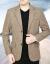 恒源祥ブランドの中年男性のスーツの上着の中に高齢者がスーツの男性を少し詰めています。父のスーツの春秋の上着はネットの赤いです。同じタイプのワインは170/M(110以下)です。