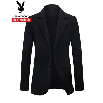 ℘プレイボーイの軽さと高級感の両面ですね。スーツの男性は2020年春新作ビジネス修身純色のウールです。スーツの黒さは170 cmです。
