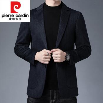 ピルカダンは桑蚕糸のスーツの男性のオーバーをまねて厚くして少し詰めます中年の男性のスーツのウールのコートの短い項は黒色の185を編みます。