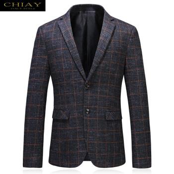 CHIAY承翼軽奢ブランド新品男性ビジネススーツ単品スーツ黄格M