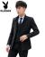 プレイボーイの男性スーツのスタンドカラーは韓国風の中国風スーツの若者が少しレトロな職業の中山服を身につけています。