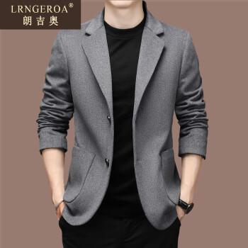 ランジオの逸品の男性羊毛の両面です。スウィーツのコートは秋冬に厚いです。韩国式修身は小さいスをツを少し诘めます。西の上は男性の灰色です。175。
